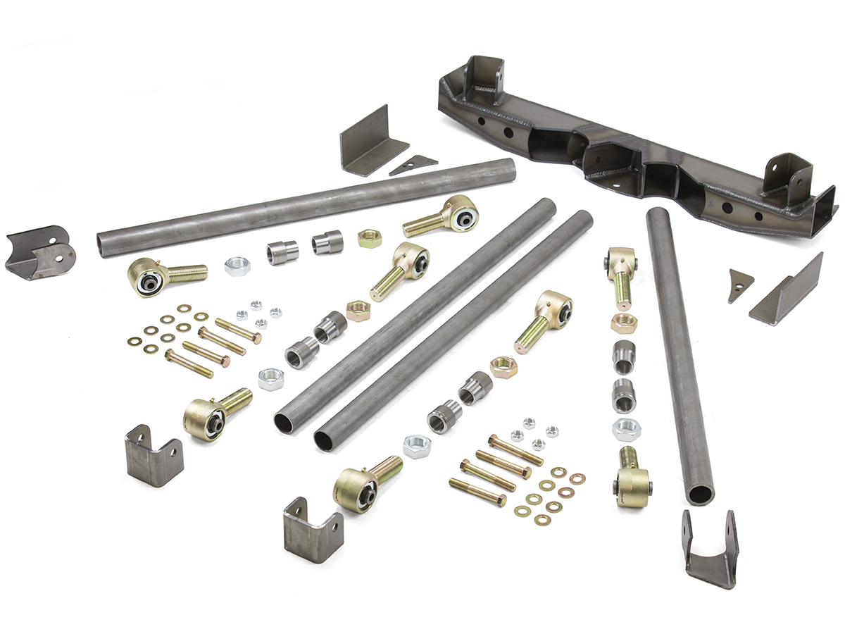 Jeep 4 Link Kit Triangulated Rear Bare GenRight