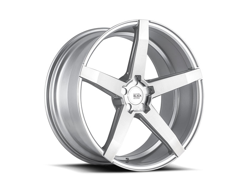 Savini di Forza Brushed Silver BM11 Wheel 19x8.5 5x108 32mm - BM11-19085508R3263