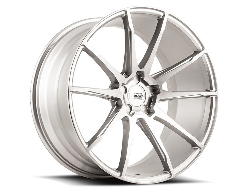 Savini di Forza Brushed Silver BM12 Wheel 19x8.5 5x112 42mm - BM12-19085512R4279