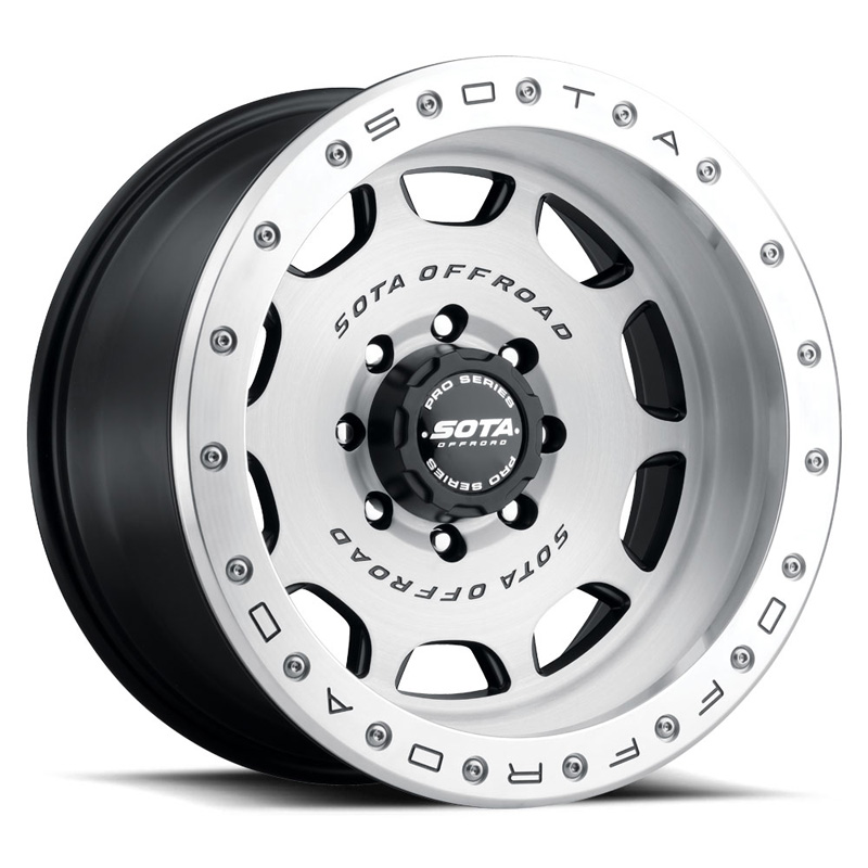 SOTA Offroad D.R.T. Brushed Finish 20x9 8x6.5 +12mm - 321BR-20996+12