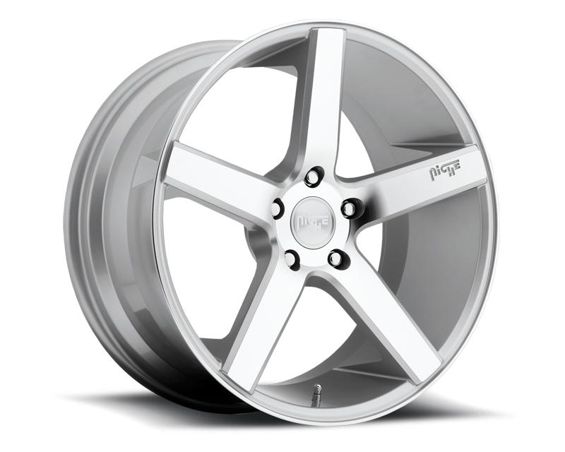 Niche Milan M135 Silver Machined Wheel 20x8.5 5x112 +34mm - M135208543+34