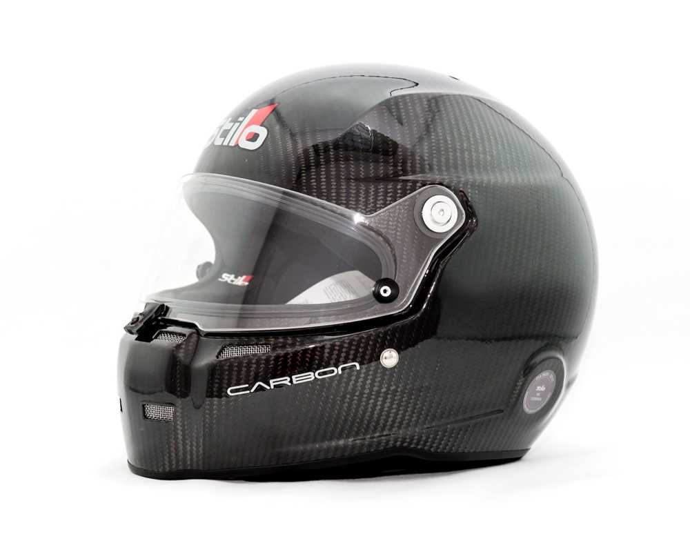 Stilo ST5F Carbon Helmet w/ Ventilation System & Hans Posts - XXL(63cm) - S AA0710AF1M-2XL63