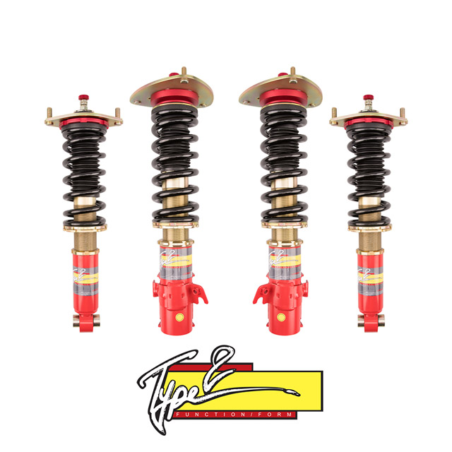 Function and Form Type 2 Coilovers w/Adjustable Damping Subaru Forester | WRX 08-14 - F2-08WRXT2