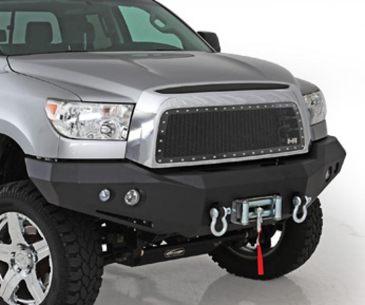 t07fwb n fab heavy duty winch front bumper textured black toyota tundra 07 13. Black Bedroom Furniture Sets. Home Design Ideas