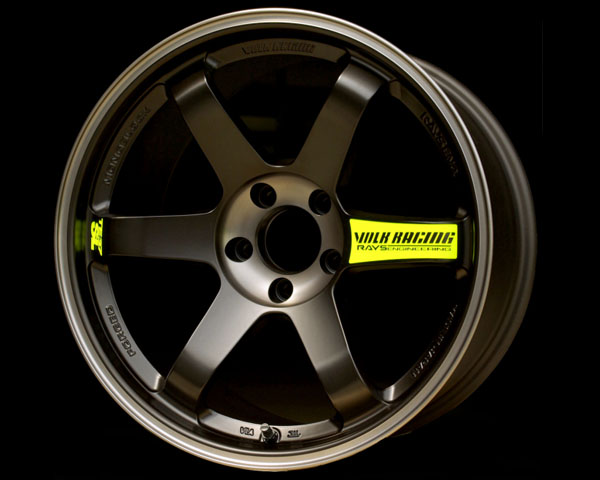 Volk Racing TE37SL Black Edition Wheel 18x10.5 5x114.3 15mm - WVDAC15EPDB