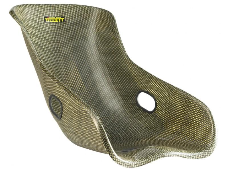 Tillett W3 Carbon Kevlar Race Car Seat with Edges On - TIL-W3-K