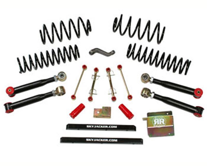 Skyjacker 4 Inch Value Short Arm Lift Kit Jeep Wrangler TJ 4WD 97-02 - TJ401K-SVX