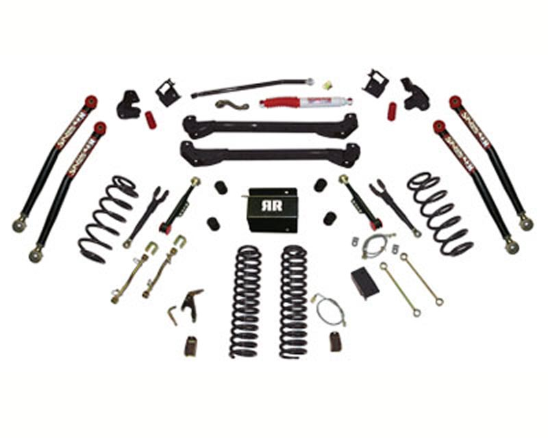 Skyjacker 6 Inch Rock Ready Lift Kit Jeep Wrangler TJ / Rubicon 03-06 - TJ60RR2K