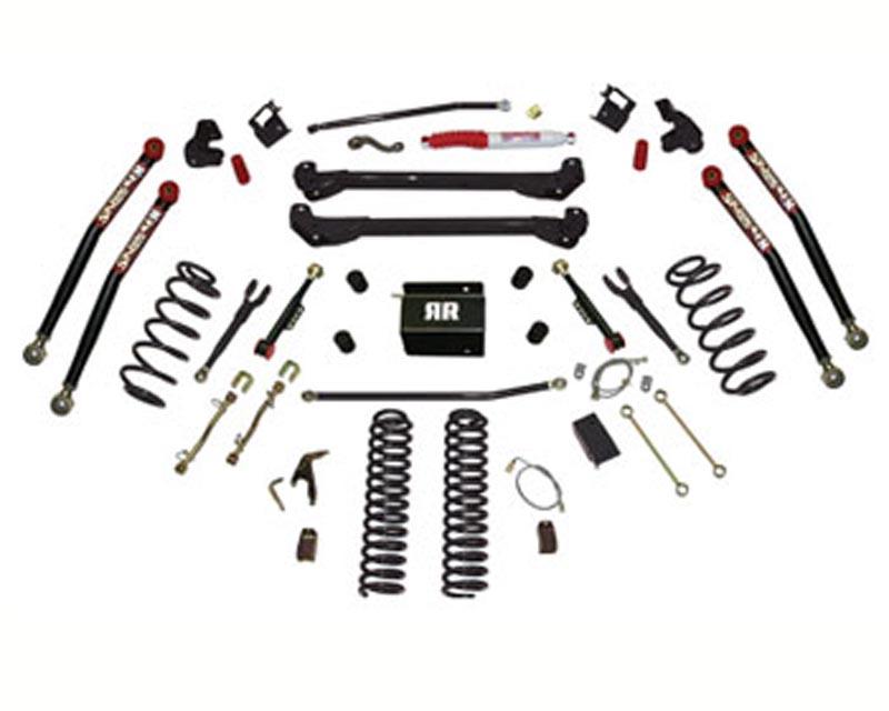 Skyjacker 8 Inch Rock Ready Lift Kit Jeep Wrangler TJ / Rubicon 03-06 - TJ80RR2K