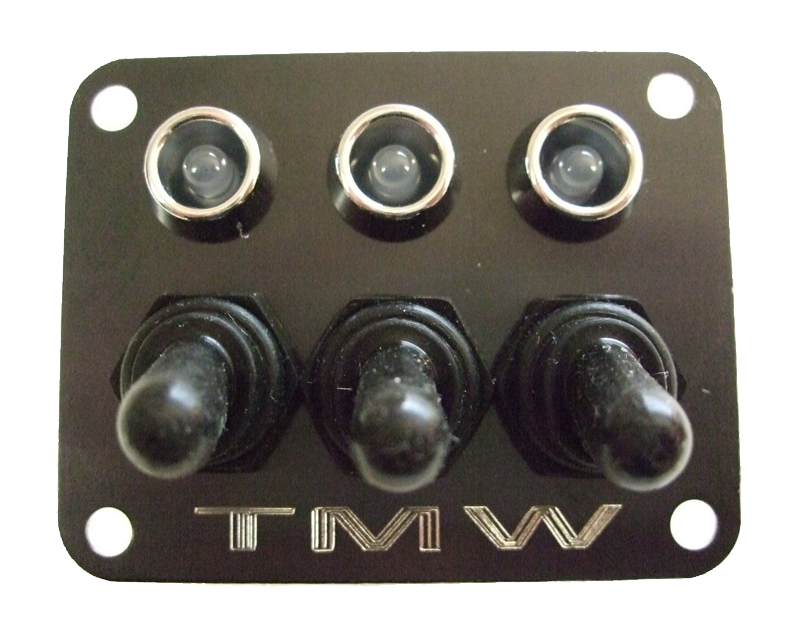 TMW Offroad 3 Switch Panel - 3 Switch Panel