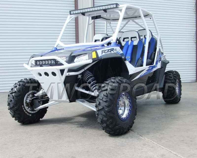 TMW Offroad Radius Cage and Side Panel PACKAGE Polaris RZR XP 4 1000 | Turbo - RZR 4 cage package
