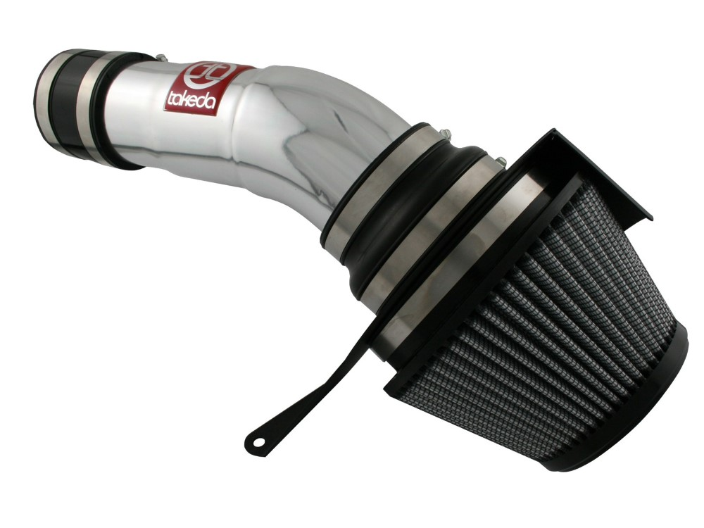 Takeda PDS Stage-2 polished Short Ram Air Intake System Honda Accord 3.5/3.7L 08-11 - TR-1007P