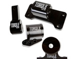 Torque Solution Billet Aluminum 4 Piece Full Engine Mount Kit Mitsubishi Evolution VII-IX 2001-2006 - TS-EV-1235
