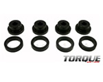 Torque Solution Drive Shaft Carrier Bearing Support Bushings Mitsubishi Evolution 1992-12