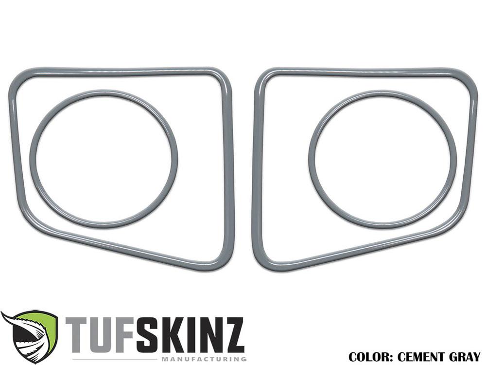 Tufskinz TUN006-GGY-G Fog Light Accent Kit Fits 14-up Toyota Tundra 4 Piece Kit Cement Gray
