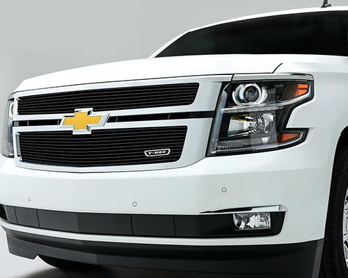 T-Rex Grilles Billet Horizontal Aluminum Black Grille Chevrolet Tahoe 2015 - 21055B
