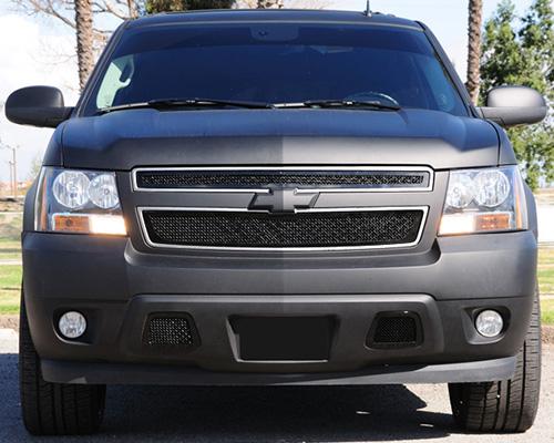 T-Rex Grilles Upper Class Small Mesh Steel Black Grille Chevrolet Tahoe LTZ 07-13 - 51050