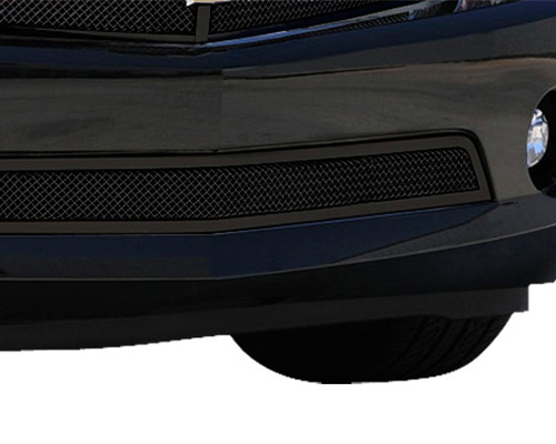 T-Rex Grilles Upper Class Small Mesh Steel Black Bumper Grille Chevrolet Camaro RS 10-13 - 52027