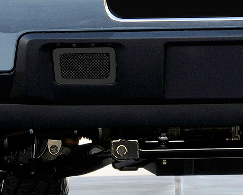 T-Rex Grilles Upper Class Small Mesh Steel Black Bumper Grille Chevrolet Silverado HD 11-13 - 52115