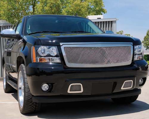 T-Rex Grilles Upper Class Small Mesh Stainless Polished Grille Chevrolet Suburban 07-13 - 54053