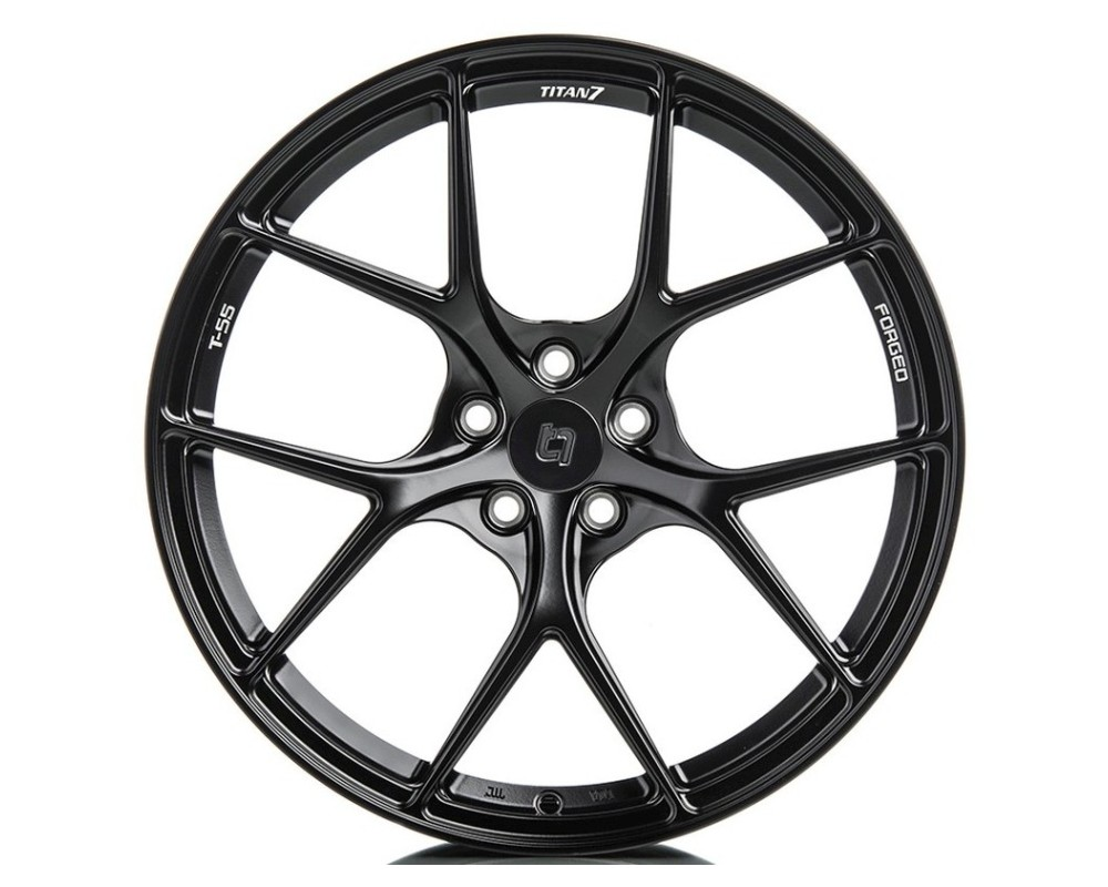 Titan 7 T-S5 Wicked Black Forged Wheel 20x8.5 5X112 30mm - TS502085030511257WB