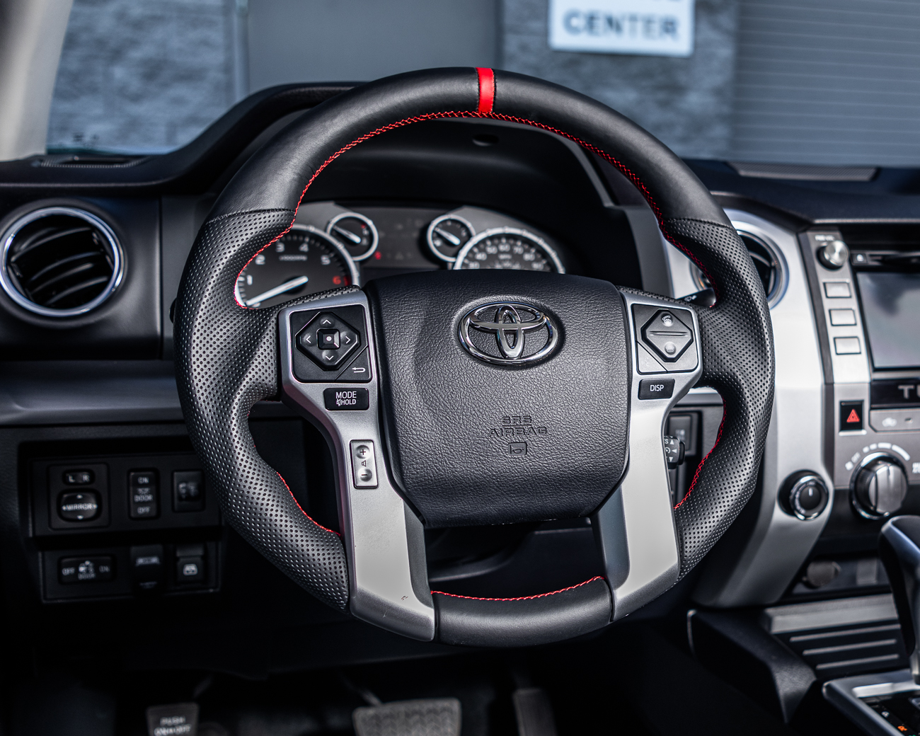 Toyota Tundra | 4Runner | Tacoma OEM Upgraded Steering Wheel - VR-TOY-TUN-STRWHL