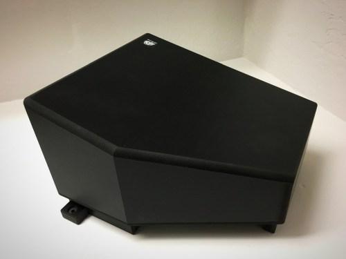 UTV Sterero Under Seat Passenger 10inch Sub Enclosure Can-Am X3 - UTV-X3SUB-ENCPASS