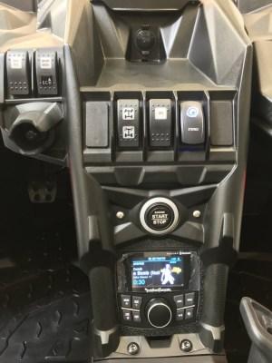 UTV Stereo 7 Speaker/1 Amp Audio System Kit Can-Am X3 - UTV-X3SYS-7SPEAKER