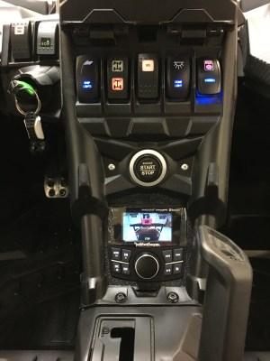 UTV Stereo 8 Speaker/2 Amps Audio System Kit Can-Am X3 - UTV-X3SYS-8SPEAKER