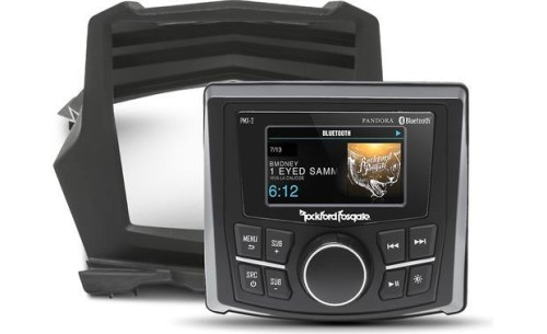 UTV Stereo Rockford Stage 1 Audio System Can-Am X3/X3 Max - UTV-X3SYS-STG1