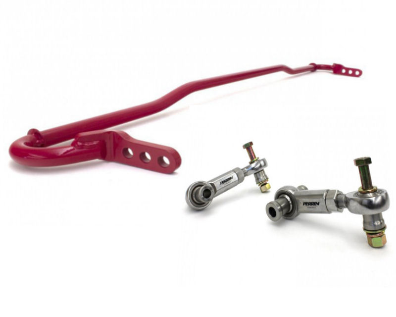 Image of Perrin Performance 16mm Rear Swaybar with Urethanel Endlinks Subaru Forester XT 09-13