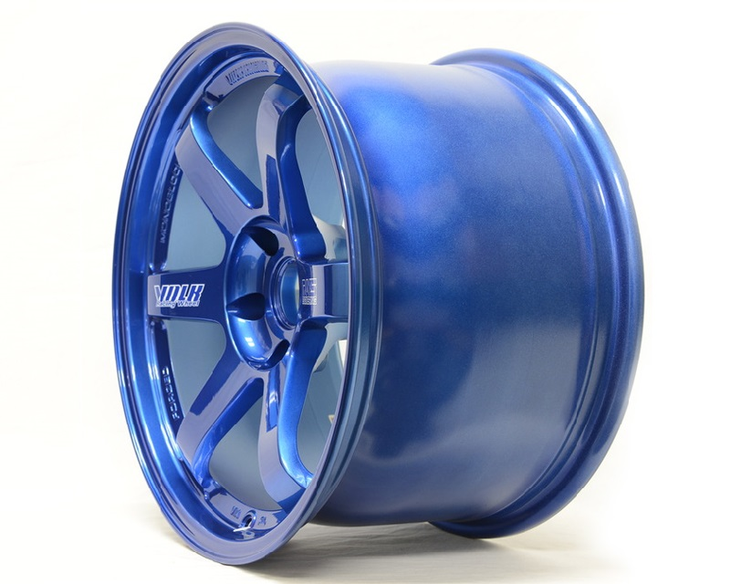 Volk Racing TE37 Ultra M Spec Wheel 20x9.5 28mm 5x114.3 Mag Blue - WVDUAX28EDM