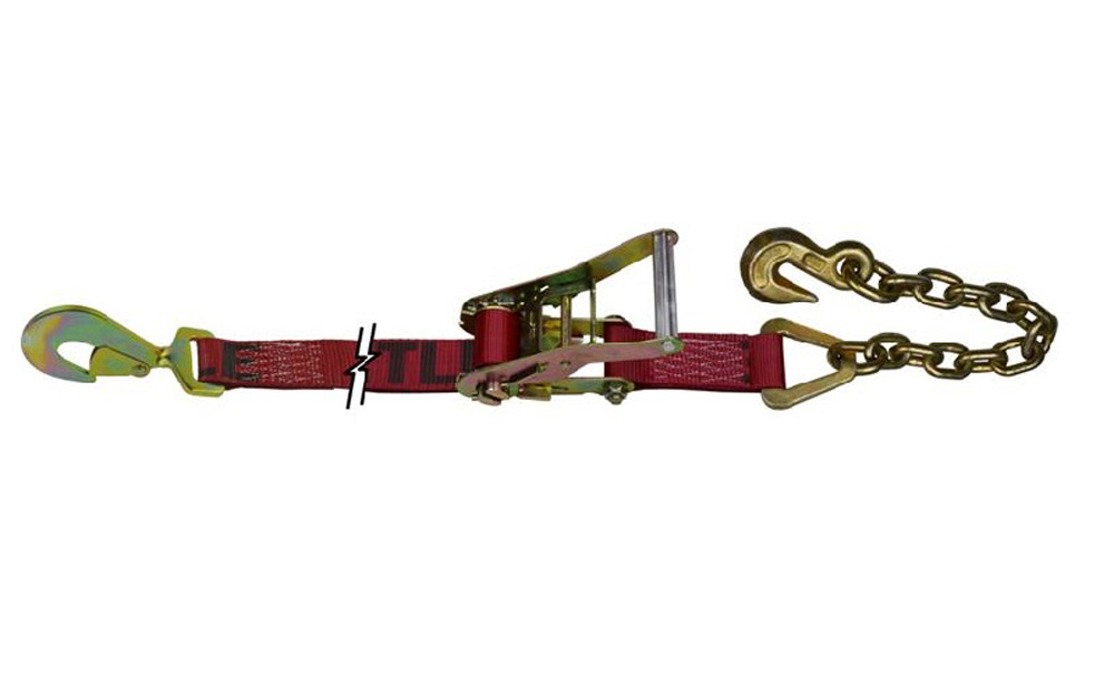 10K Ratchet Assembly 9 Foot W/Twist Snap Hook And Chain Snappin Turtle - V1121