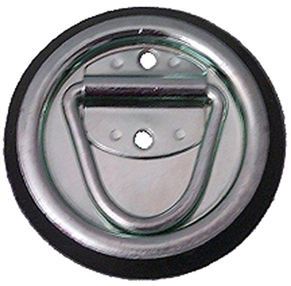 D-Ring Surface Mount 1200 LB Round Snappin Turtle - V4115