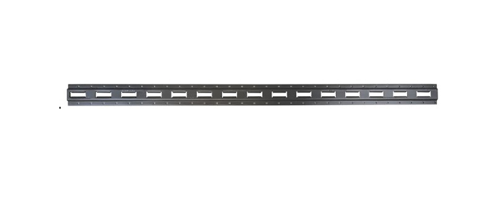 Tie Down Anchor E-Track 10 Foot Section Vertical Snappin Turtle - V4528