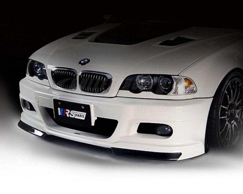 Varis Front Bumper Bmw E46 M3 Street Csl 01 06