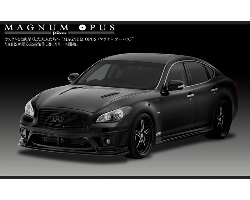Varis FRP Full Body Kit Infiniti M37 | M56 Y51 Fuga 11-13 - VANI-058
