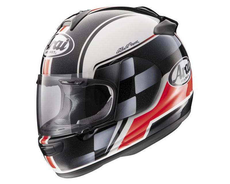 Image of Arai Vector-2 Contest Red Helmet LG
