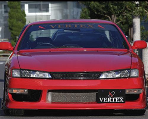 VERTEX White Bumper Lens  Nissan 240SX S14 97-98 - VER-S14K-BL