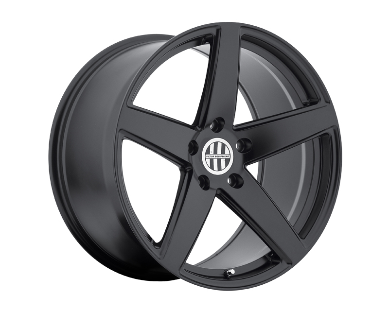 Victor Equipment Baden Matte Black Wheel 22x10.5 5x130 +56mm - VE-2205VIB565130M71
