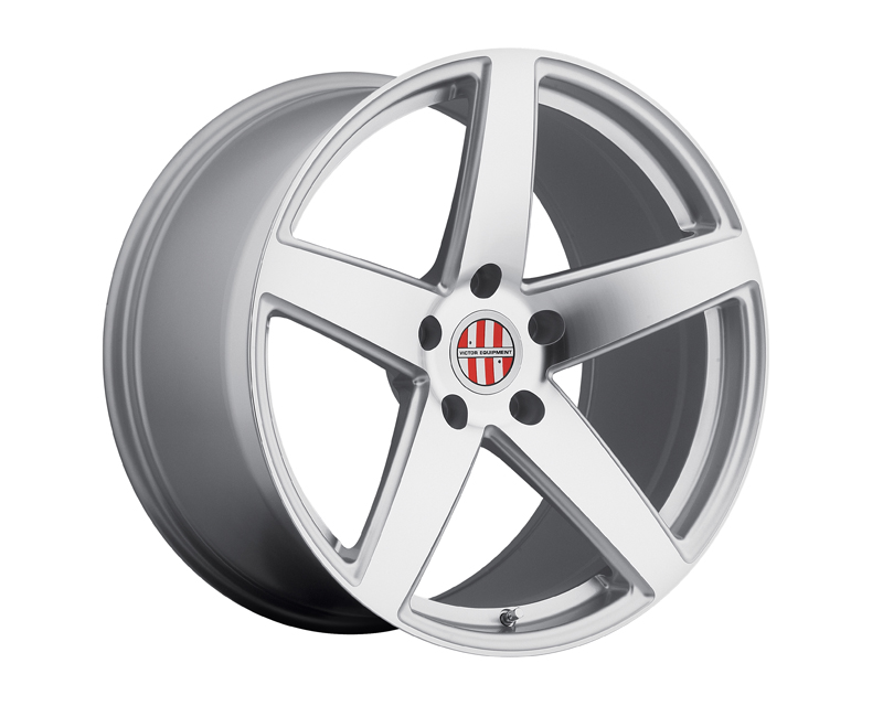 Victor Equipment Baden Silver with Mirror Cut Face Wheel 19x8 5x130 +45mm - VE-1980VIB455130S71