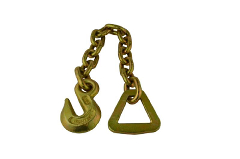 Tow Chain 10K Chain Assembly W/V Ring And Grab Hook Snappin Turtle - VHR133