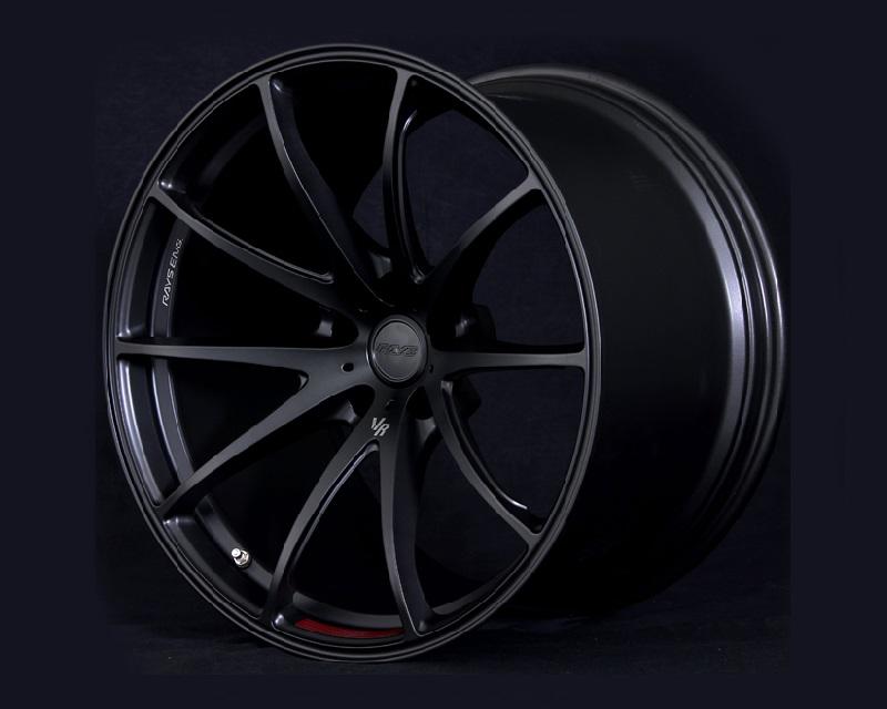 Volk Racing G25 Edge Wheel 20x12 5x114.3 25mm Pressed Matte Black - WKCEA825EPHF