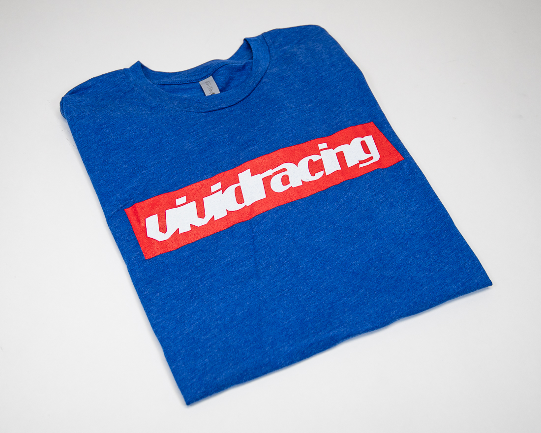 Vivid Racing T-Shirt VRPreme Mens Royal Blue - VR-TSHIRT-SUP-RB-XS