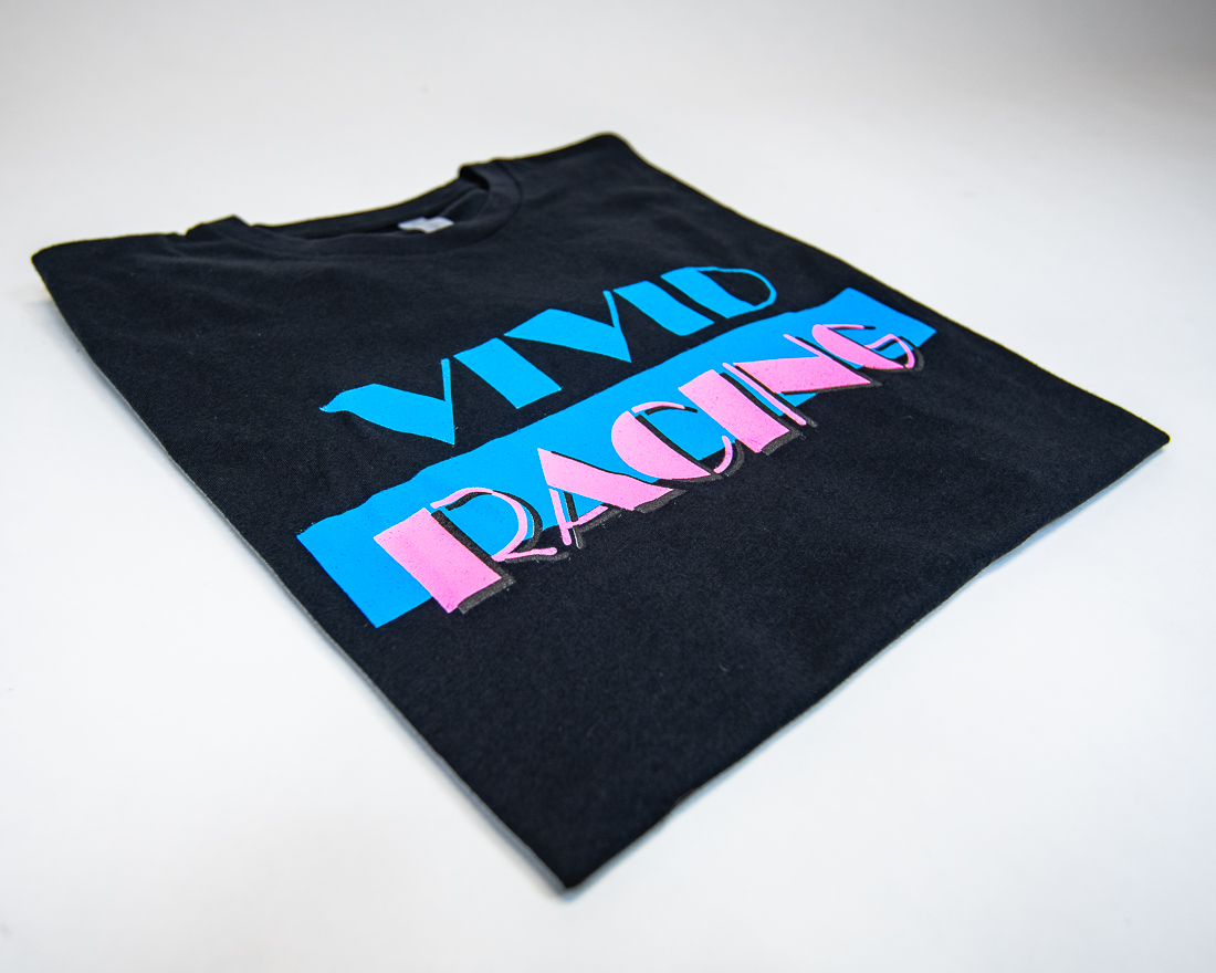 Vivid Racing T-Shirt Miami Vice Youth Black - VR-TSHIRT-MV-BKK-S