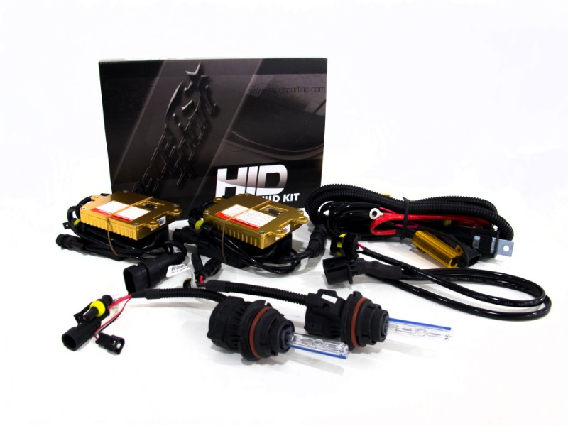 Race Sport Lighting H13 HID 6K Complete Kit Jeep Liberty 08-12 - VS-JEEP0812-6K