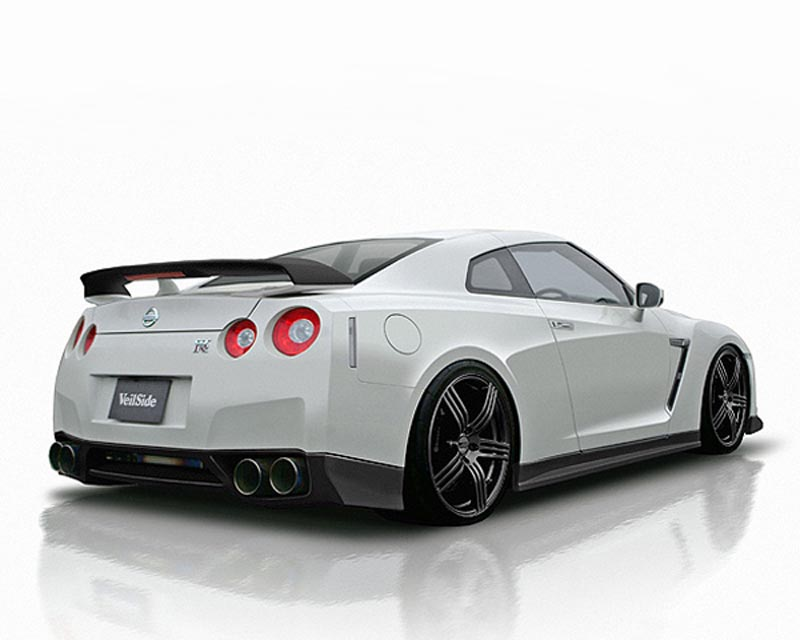 veilside version 1 rear wing nissan gt r r35 09 18. Black Bedroom Furniture Sets. Home Design Ideas