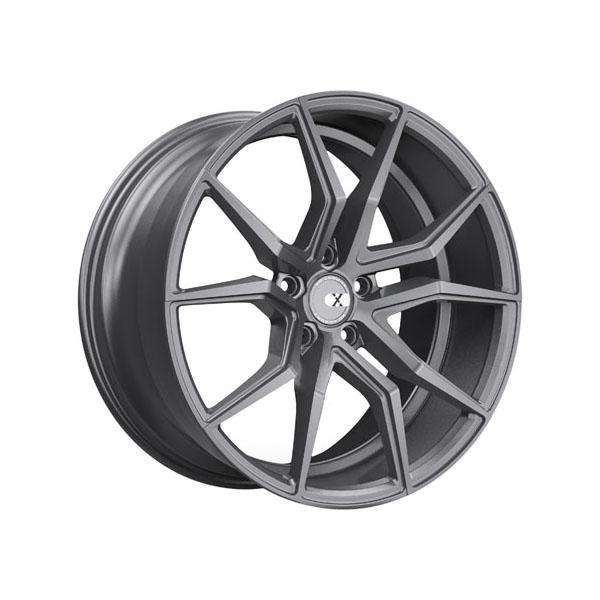 XO Luxury Verona 19x10.0 5x114.3 +42 Matte Gunmetal - 1910VER425114G73