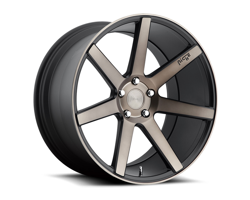 Niche Verona M150 Black Machined Wheel 20x10 5x120 +40mm - M150200011+40