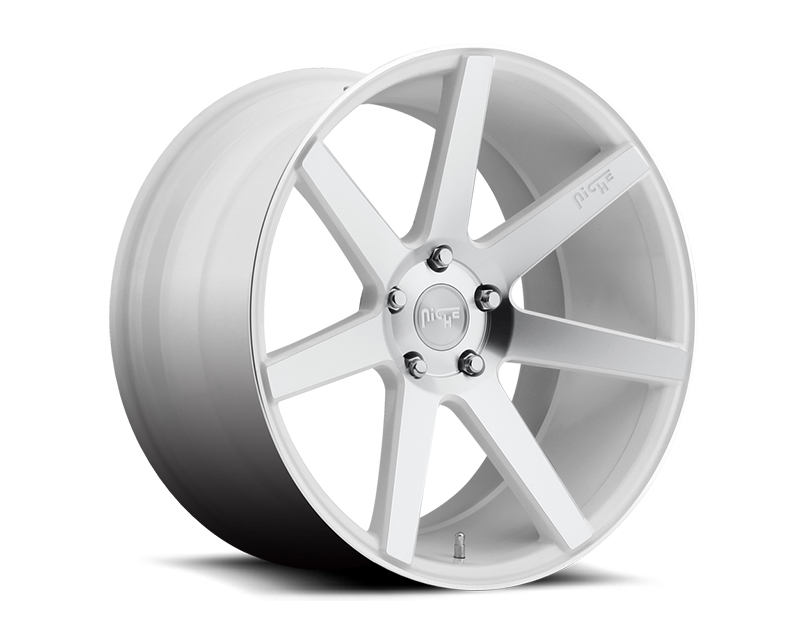Niche Verona M151 Gloss White & Machined Wheel 18x8 5x100 +40mm - M151188080+40